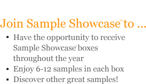Join Sample Showcase™